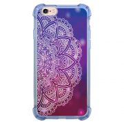 Capa Intelimix Anti-Impacto Azul Apple iPhone 6 6s Mandala - AT80