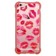 Capa Intelimix Anti-Impacto Rosa Apple iPhone 6 6s Beijos - TP44