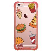 Capa Intelimix Anti-Impacto Rosa Apple iPhone 6 6s Food - TP106