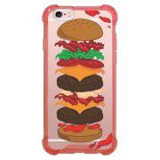 Capa Intelimix Anti-Impacto Rosa Apple iPhone 6 6s Food - TP107