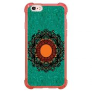 Capa Intelimix Anti-Impacto Rosa Apple iPhone 6 6s Mandala - AT24