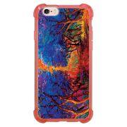 Capa Intelimix Anti-Impacto Rosa Apple iPhone 6 6s Pintura - AT38