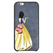 Capa Intelimix Couro Cinza Apple iPhone 6  Princesa Branca de Neve - TP203