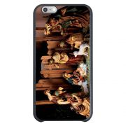 Capa Intelimix Couro Cinza Apple iPhone 6  Religião - RE10