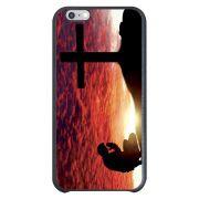 Capa Intelimix Couro Cinza Apple iPhone 6  Religião - RE12