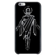 Capa Intelimix Couro Cinza Apple iPhone 6  Religião - RE20