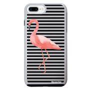 Capa Intelimix Impacto Duo Branca Apple iPhone 7 Plus Flamingo - TP317
