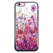 Capa Intelimix Intelislim Chumbo Apple iPhone 6 6s Florais - FL14