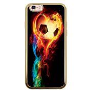 Capa Intelimix Intelislim Dourado Apple iPhone 6 6s Esportes - EP02