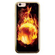 Capa Intelimix Intelislim Dourado Apple iPhone 6 6s Esportes - EP05