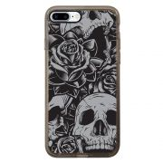 Capa Intelimix Intelislim Grafite Apple iPhone 7 Plus Caveira - CV01
