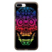 Capa Intelimix Intelislim Grafite Apple iPhone 7 Plus Caveira - CV29