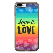 Capa Intelimix Intelislim Grafite Apple iPhone 7 Plus LGBT - LB12