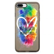 Capa Intelimix Intelislim Grafite Apple iPhone 7 Plus LGBT - LB20