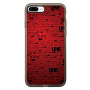 Capa Intelimix Intelislim Grafite Apple iPhone 7 Plus Love - LV06
