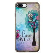 Capa Intelimix Intelislim Grafite Apple iPhone 7 Plus Love - LV17