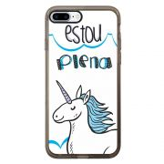 Capa Intelimix Intelislim Grafite Apple iPhone 7 Plus Memes - ME03