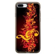 Capa Intelimix Intelislim Grafite Apple iPhone 7 Plus Música - MU09