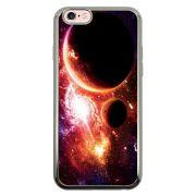 Capa Intelimix Intelislim Prata Apple iPhone 6 6s Planetas - AT29