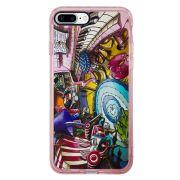 Capa Intelimix Intelislim Rosa Apple iPhone 7 Plus Designer - DE28