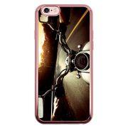 Capa Intelimix Intelislim Rosê Apple iPhone 6 6s Motocicleta - VL09
