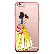 Capa Intelimix Intelislim Rosê Apple iPhone 6 6s Princesa Branca de Neve - TP203