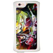 Capa Intelimix Velozz Branca Apple iPhone 6 6S Designer - DE35
