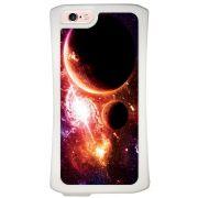 Capa Intelimix Velozz Branca Apple iPhone 6 6S Planetas - AT29