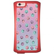 Capa Intelimix Velozz Coral Apple iPhone 6 6S Conchas - AT93