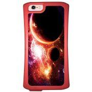Capa Intelimix Velozz Coral Apple iPhone 6 6S Planetas - AT29