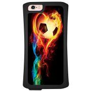 Capa Intelimix Velozz Preta Apple iPhone 6 6S Esportes - EP02