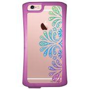 Capa Intelimix Velozz Roxa Apple iPhone 6 6S Mandala - TP259