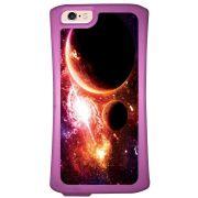Capa Intelimix Velozz Roxa Apple iPhone 6 6S Planetas - AT29