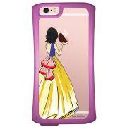 Capa Intelimix Velozz Roxa Apple iPhone 6 6S Princesa Branca de Neve - TP203