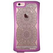 Capa Intelimix Velozz Roxa Apple iPhone 6 6S Rendas - TP292