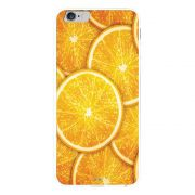 Capa My Capa Branca Apple iPhone 6 Plus Laranja - TX14