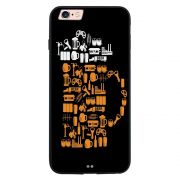 Capa My Capa Preta Apple iPhone 6 6s Beer - AT77