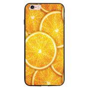 Capa My Capa Preta Apple iPhone 6 6s Laranja - TX14