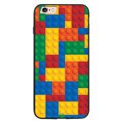 Capa My Capa Preta Apple iPhone 6 6s Lego - TX08