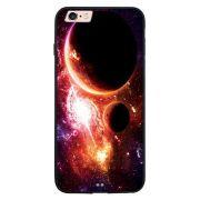 Capa My Capa Preta Apple iPhone 6 6s Planetas - AT29