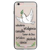 Capa My Capa Preta Apple iPhone 6 6s Religião - TP346