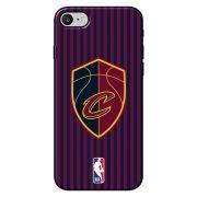 Capa para Celular - Apple iPhone 8 - Clevelad Cavaliers - E06