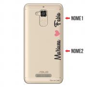 Capa para Celular Transparente com Nome para Asus Zenfone 3 Max 5.2 ZC520TL - NM01