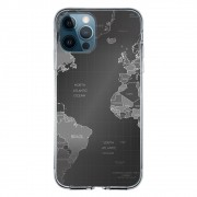 Capa Personalizada Apple iPhone 12 Pro - Mapa Mundi - MC01