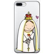 Capa Personalizada para Apple iPhone 7 Plus - Sagrado Coração - TP353