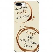 Capa Personalizada para Apple iPhone 8 Plus - Café - AT97