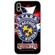Capa Personalizada para Apple iPhone X - Resident Evil S.T.A.R.S RPD - RD05