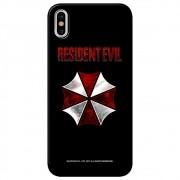 Capa Personalizada para Apple iPhone X - Resident Evil Umbrella Corporation - RD04