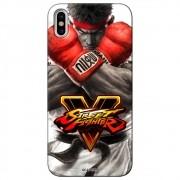 Capa Personalizada para Apple iPhone X - Street Fighter Ryu - SF05