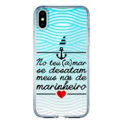 Capa Personalizada para Apple iPhone XS Frases - TP378